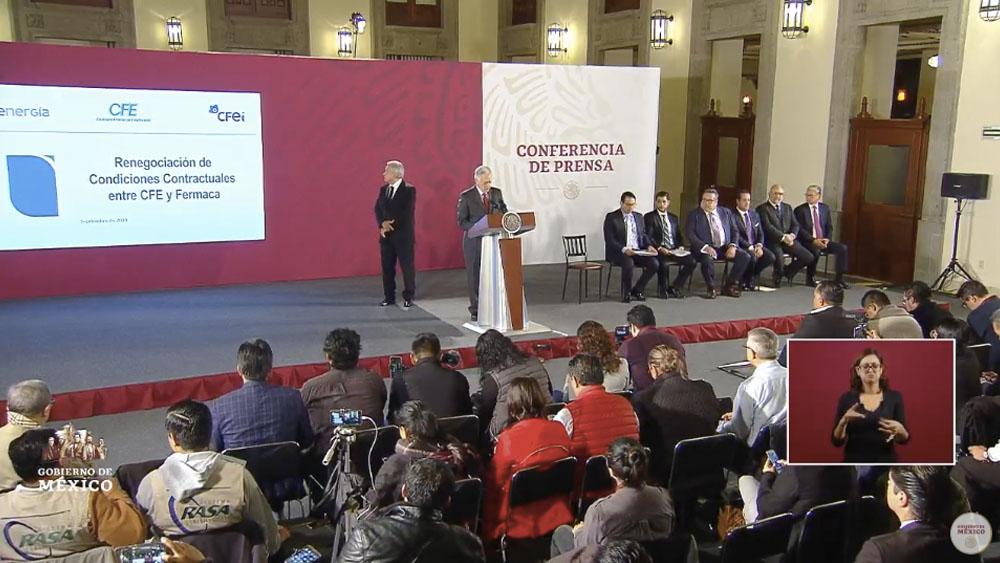 Gobierno federal y Fermaca logran acuerdo por gasoductos - cfe gasoductos