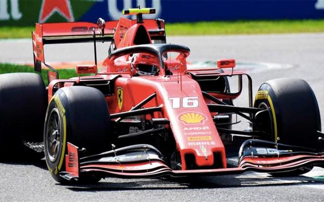"""Leclerc asegura la """"pole position"""" en el Gran Premio de Italia - charles leclerc gran premio de italia pole position"""