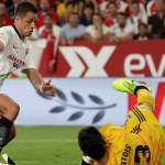 #Video Anulan gol del empate de 'Chicharito' ante Real Madrid