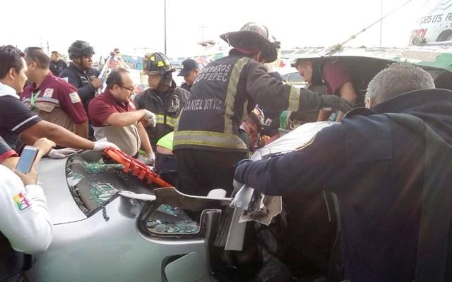 Choque deja un muerto y una herida en avenida Río de los Remedios - choque rio de los remedios