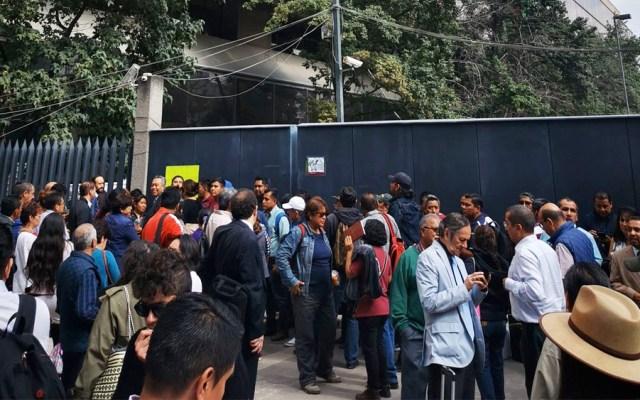 Integrantes de la CNTE liberan avenida Universidad - cnte avenida universidad