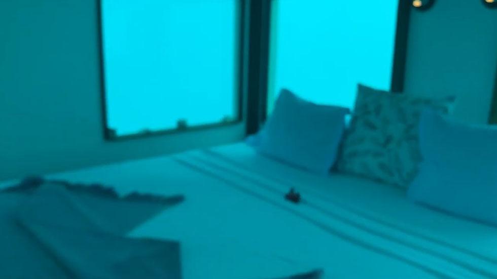 Cuarto sumergido en el mar. Captura de pantalla