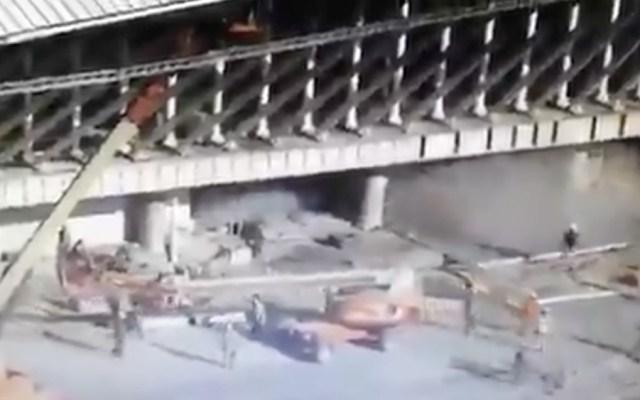 Un muerto y 13 heridos por derrumbe en aeropuerto de Ezeiza - Foto de captura de pantalla