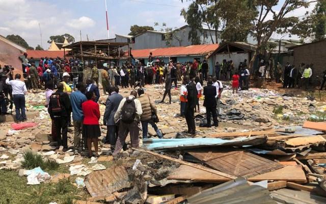 Derrumbe en escuela deja al menos siete niños muertos en Kenia - derrumbe escuela Nairobi, Kenia