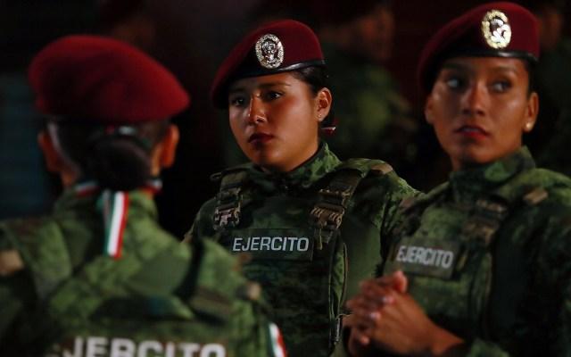 Desfilarán Guardia Nacional y beneficiarios de programas sociales - Foto de Notimex-Francisco Estrada.