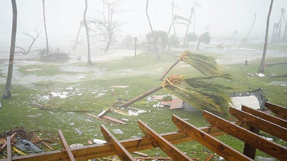 Cruz Roja revela contaminación de agua potable en Bahamas por Dorian - Destrucción en islas Ábaco de Bahama por huracán Dorian. Foto de Tribune242