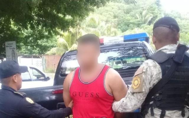Suman 316 detenidos durante 'Estado de sitio' en Guatemala - Detenido durante 'Estado de sitio'. Foto de @PNCdeGuatemala