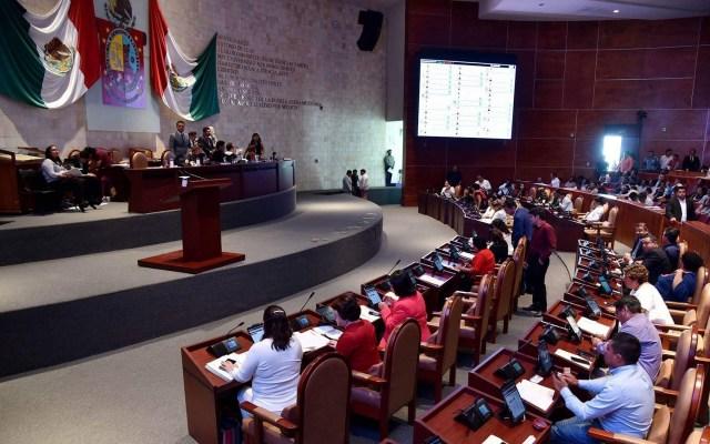 Congreso de Oaxaca votará el miércoles sobre despenalizar el aborto - Discusión en el Congreso de Oaxaca sobre el aborto. Foto de @CongresoOaxLXIV