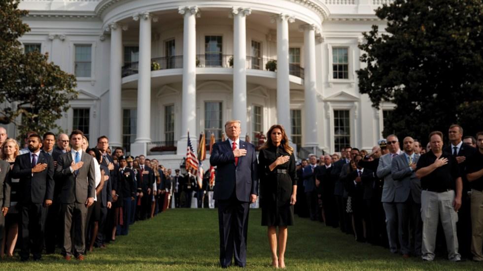 Donald Trump conmemora 'Día del Patriota' - Foto de EFE