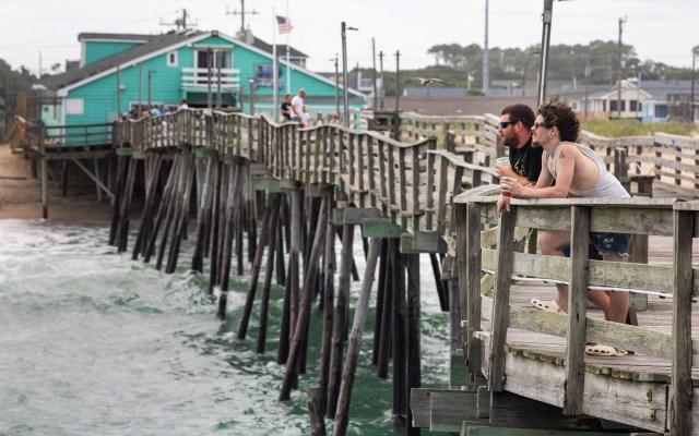 Ojo del huracán Dorian se ubica al sureste de Carolina del Sur - Dorian huracán Estados Unidos