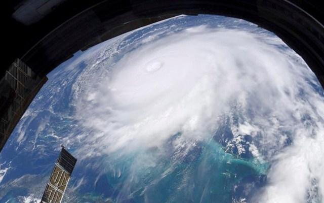 Cambio climático se manifiesta en la fuerza de Dorian: OMM - dorian satelite