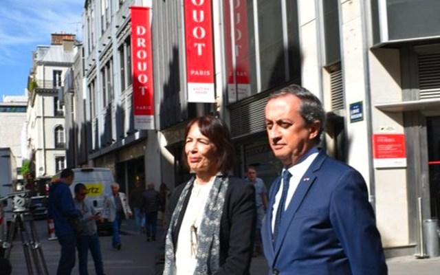 Embajador en Francia condena subasta de piezas arqueológicas de México en París - Embajador de México en Francia