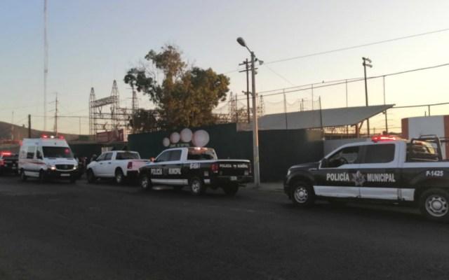 Asesinan a jugador en campo deportivo de Baja California - Foto de @ensenadaonline
