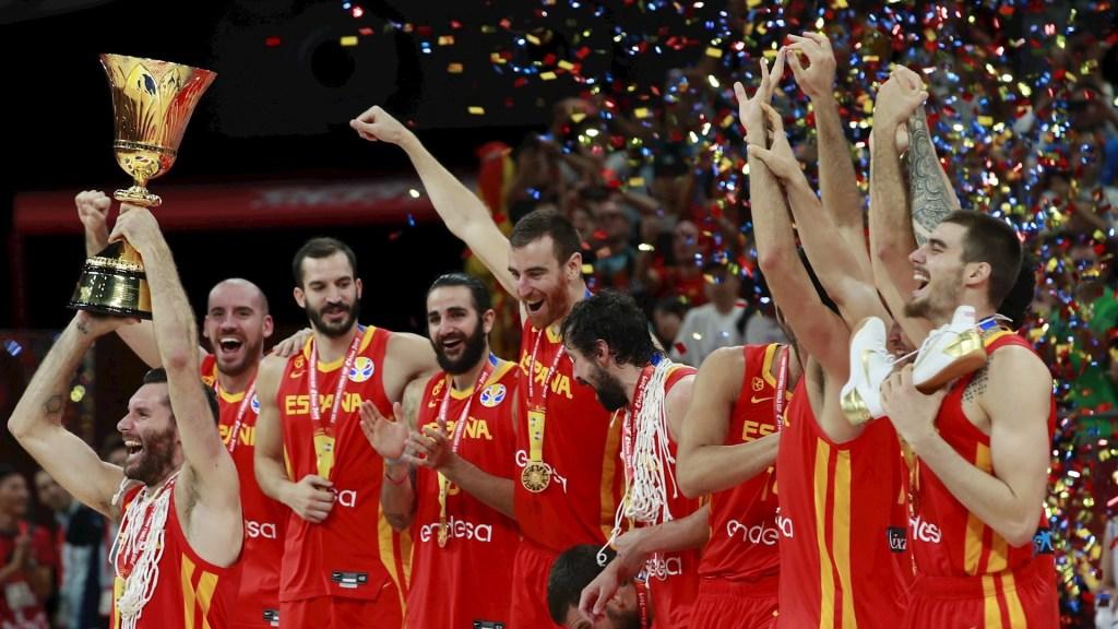 España domina a Argentina y se lleva el campeonato mundial de basquetbol - España Mundial Basquetbol Argentina campeón