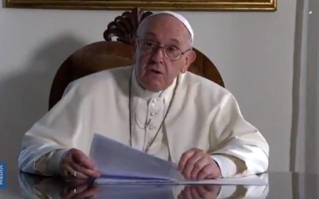 #Video Papa Francisco felicita al Club América por 103 aniversario - Felicitación del papa Francisco al Club América. Captura de pantalla