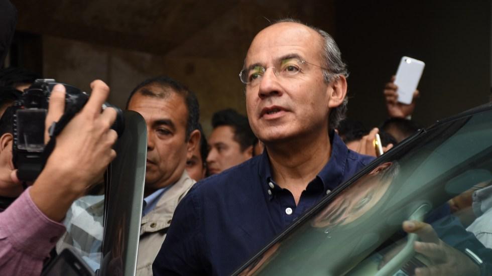Felipe Calderón denuncia persecución política del actual gobierno - Felipe Calderón en gira en veracruz. Foto de Archivo 2018 - E-consulta.