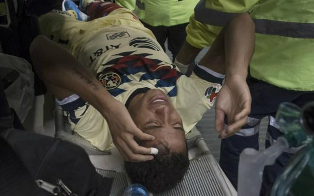 Así fue la aparatosa lesión de Giovani dos Santos - Foto de Mexsport