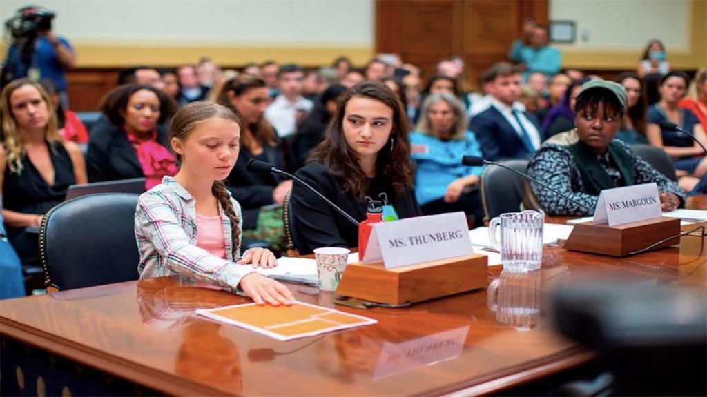 Greta Thunberg reprende al Congreso de EE.UU. por inacción ante el cambio climático. Noticias en tiempo real