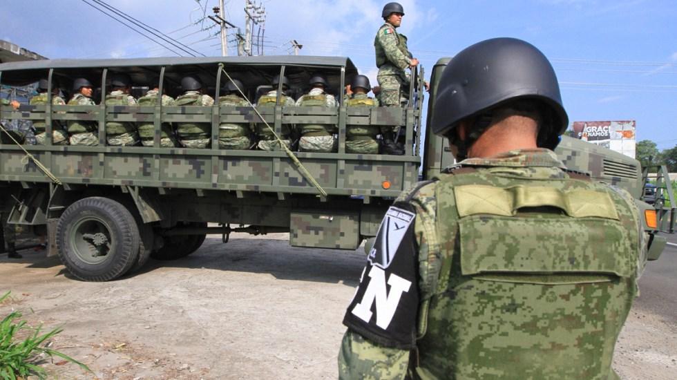 Matan a golpes a elemento de la Guardia Nacional en Xochimilco - Guardia Nacional