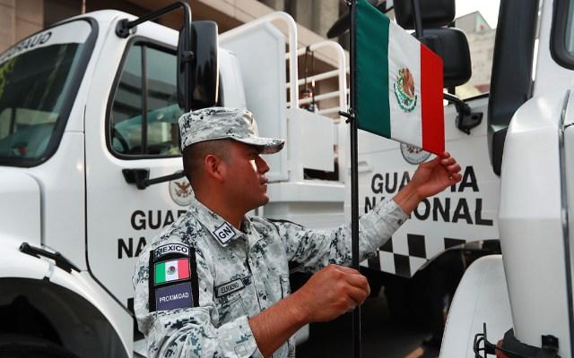 Prevén destinar más de 35 mil mdp para la Guardia Nacional en 2021 - Esta es la primera ocasión que participa la Guardia Nacional en el Desfile Militar