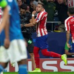 Héctor Herrera le da el empate al Atletico de Madrid frente a la Juventus