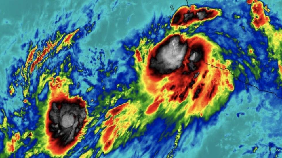 Lorena se convierte en huracán categoría 1 - Foto de @ChaacTlaloc