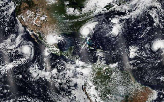 Temporada de tormentas y huracanes 2020 será más activa de lo previsto - Ciclones Juliette, Fernand, Dorian y Gabrielle. Foto de @JPSSProgram