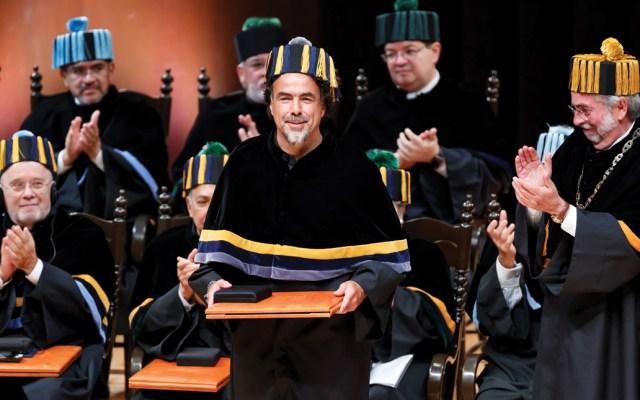 Alejandro González Iñarritu recibe doctorado honoris causa por la UNAM - Foto de EFE