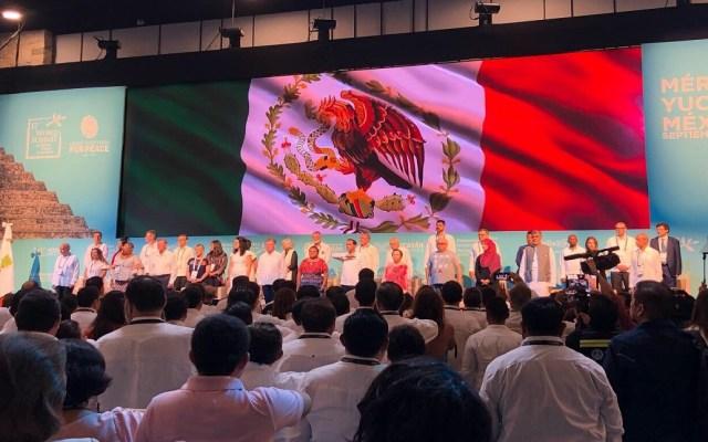 Inicia XVII Cumbre de Premios Nobel de la Paz en Mérida - Inauguración de la XVII Cumbre Mundial de Premios Nobel de la Paz. Foto de @AyusoIrving