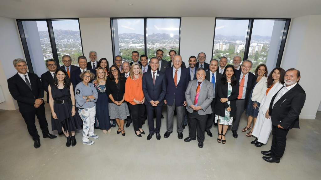 Instalan Comisión México-Los Ángeles para fortalecer relación bilateral. Noticias en tiempo real