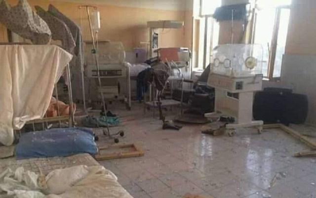 Atentado talibán en hospital de Afganistán suma 39 muertos - Interior de hospital tras ataque con coche bomba. Foto de @TOLOnews