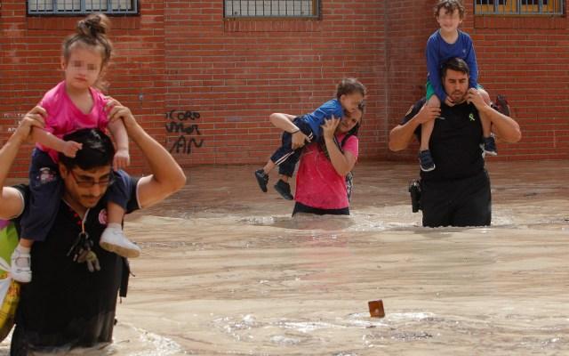 Inundaciones en España dejan cinco muertos y enormes daños materiales - Inundaciones en España