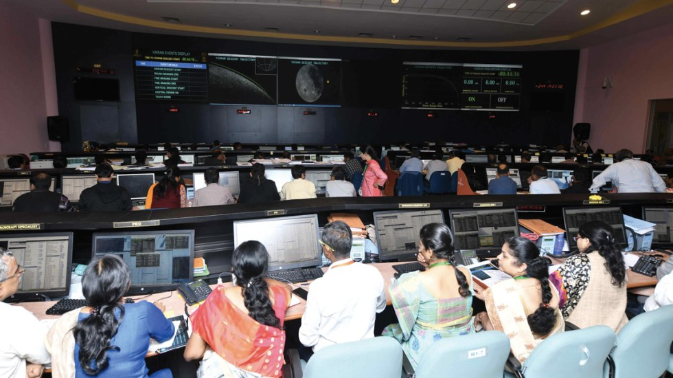 ISRO pierde contacto con el módulo Chandrayaan-2 antes del alunizaje - Foto de Twitter ISRO