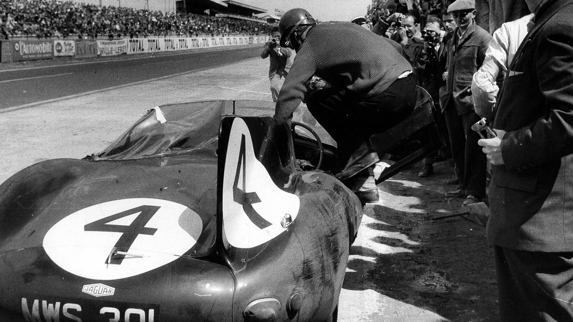 Jaguar D Type Le Mans 1956