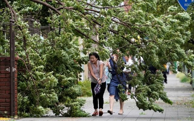 Tres muertos y 40 heridos, saldo preliminar en Japón del tifón Faxai - Foto de EFE