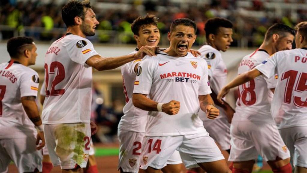 #Video Chicharito Hernández anota en la Europa League. Noticias en tiempo real
