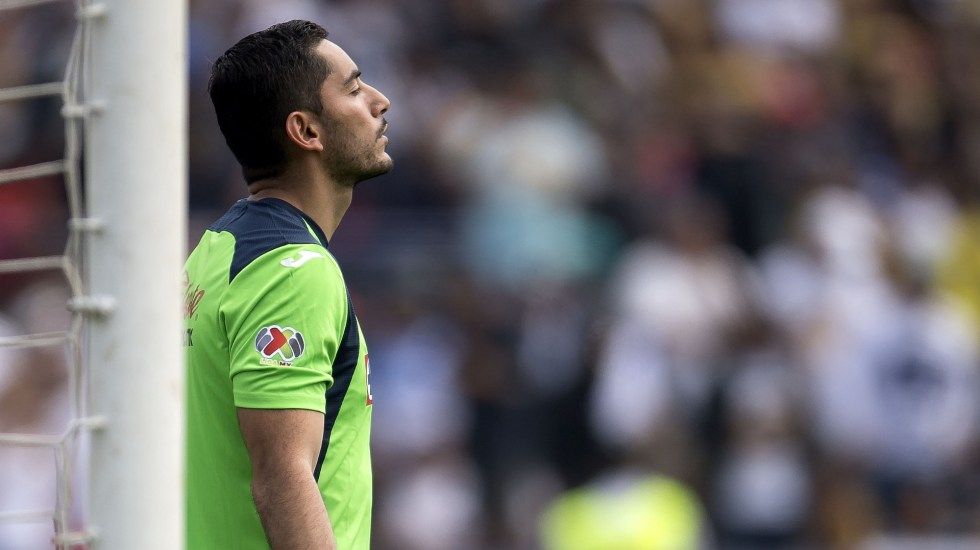 Corona reconoce error durante partido ante Pumas - José de Jesús Corona Cruz Azul