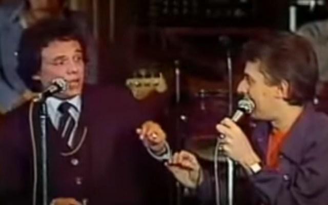 #Video El día que José José cantó Rock'n Roll con Enrique Guzmán - José José cantando con Enrique Guzmán. Captura de pantalla