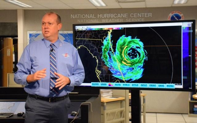 Huracán Dorian marcha a paso lento rumbo a Florida - Ken Graham, director del NHC. Foto de @NHC_Atlantic