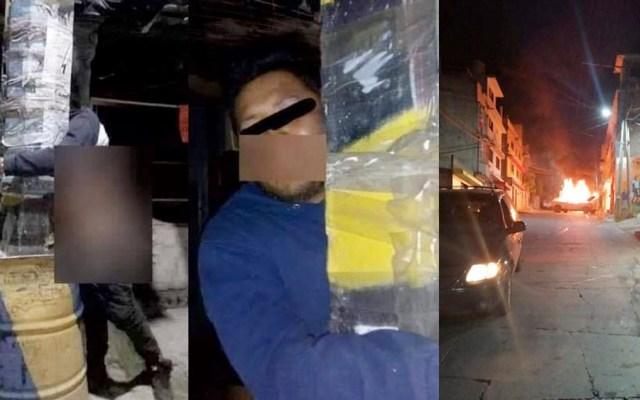 Intentan linchar a dos presuntos delincuentes en Naucalpan - Intentan linchar a dos presuntos delincuentes en Naucalpan