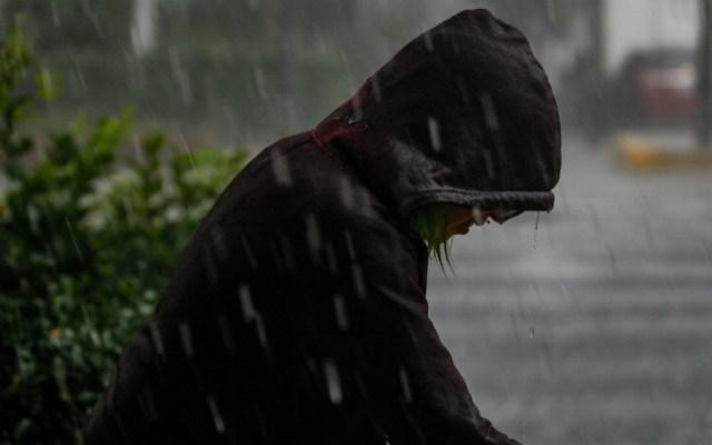 Lluvia en al menos cuatro alcaldías de la Ciudad de México - Foto de Notimex