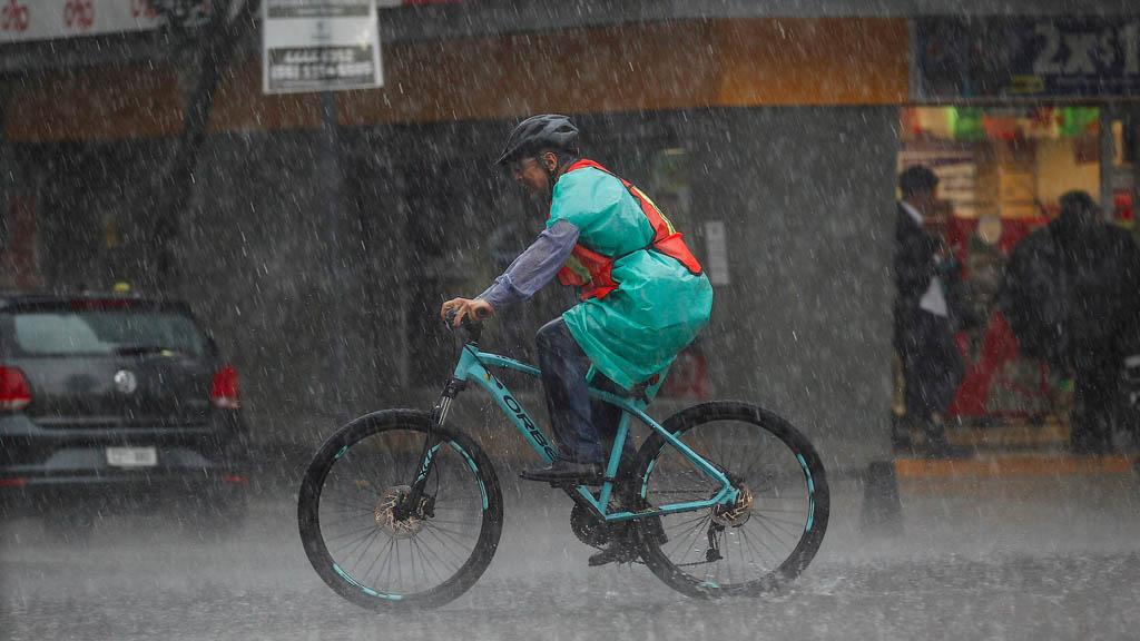 Alerta Naranja por lluvia fuerte en cuatro alcaldías - Lluvias Ciudad de México t
