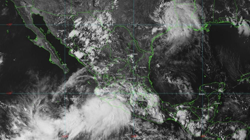 Centro de la tormenta tropical Lorena se acerca a la costa mexicana de Colima. Noticias en tiempo real