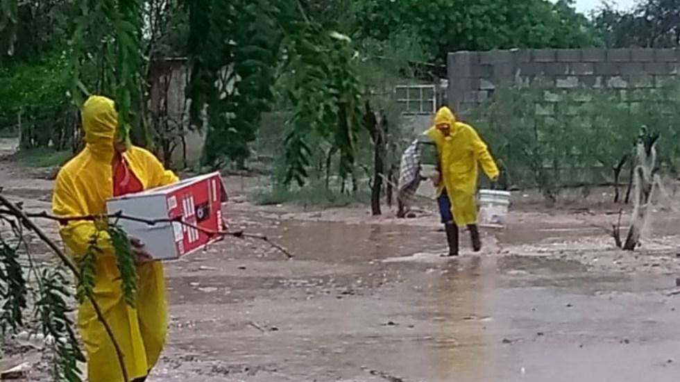 Lorena se degrada a baja remanente cerca de Sonora - Lorena Sonora Protección Civil