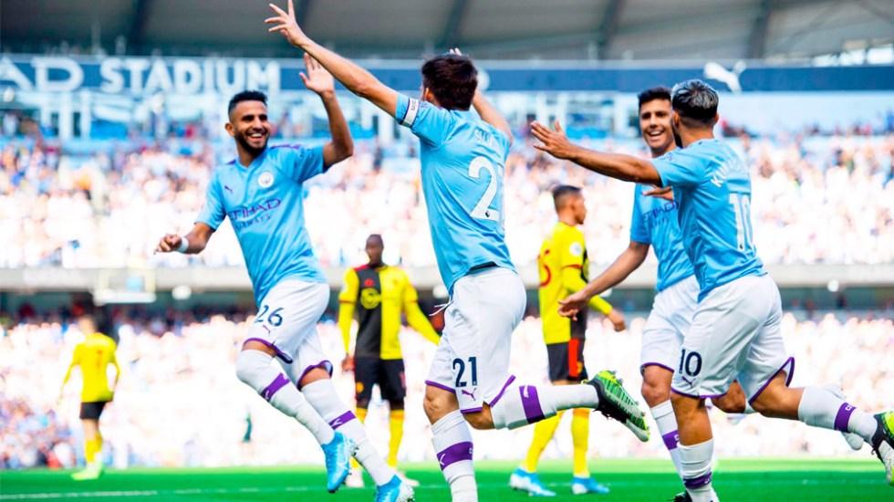 Manchester City golea8-0 al Watford - Manchester City golea8-0 al Watford