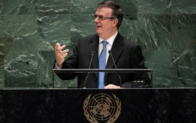 México llama en la ONU a combatir el supremacismo blanco y el unilateralismo - Foto de EFE