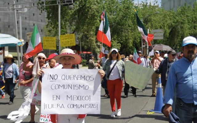 Ciudadanos marchan contra el gobierno de López Obrador - Marcha contra Andrés Manuel López Obrador AMLO