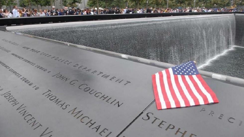 Estados Unidos recuerda a víctimas del atentado terrorista del 11S - Memorial a víctimas del 11S. Foto de @NYPDnews