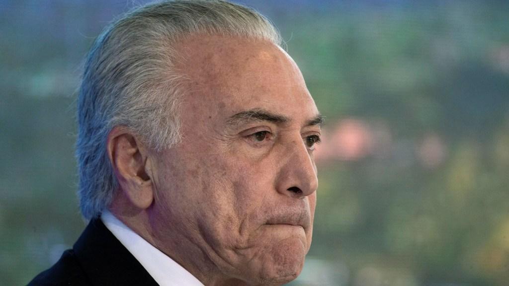 Temer califica destitución de Dilma Rousseff como 'golpe de Estado' - Michel Temer. Foto de EFE