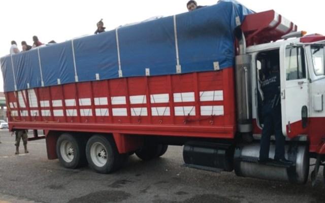 Rescatan a 172 migrantes en límites de Veracruz y Tabasco - Foto de Chontalpa Diario